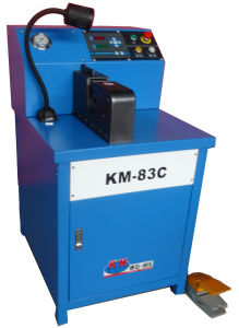 Ce Qualified Side Feeding Hose Crimping Machine for Air Conditiong Hose pictures & photos