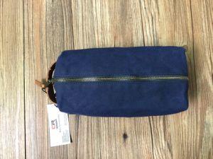 Custom Genuine Leather Dopp Kit for Men Wholesale pictures & photos