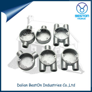 Malleable Iron 20mm/25mm 4-Way Cross Junction Box pictures & photos