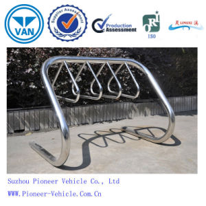 High Quality 4 Bicycles Parking Bike Rack pictures & photos