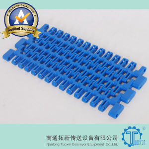 Snb M2 Straight Running Flush Grid Plastic Modular Conveyor Belt pictures & photos