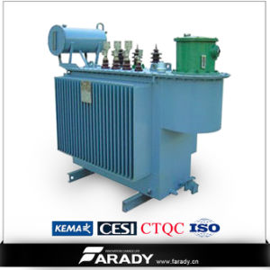 High Voltage Oil Immersed Transformador 6mva Mva Load Transformer pictures & photos