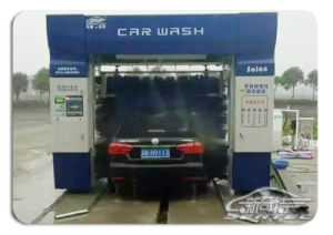 Xqt-S9 Type Nine Brush Tunnel Type Automatic Car Washer pictures & photos