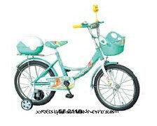 Green Colour, Children Bike with Mirror, Pft-2115