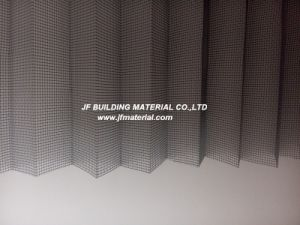PP&PE/ Fiberglass /Polyester Plisse Insect Screen Pleated Screen pictures & photos