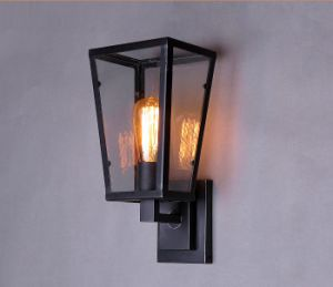 Metal Glass Wall Lamp (WHW-916) pictures & photos