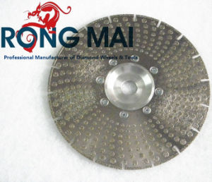 Electroplated Diamond Segment Cutting Saw Blade