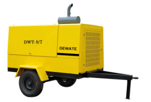 Diesel Drive Portable Screw Air Compressor for Construction pictures & photos