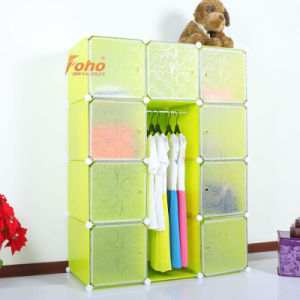 Green Plastic DIY Storage Cbinet with Many Colors Available (FH-AL0041-9) pictures & photos