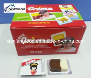 Nucrema Choco Two Color Cholate and Milk Flavor Chocolate pictures & photos