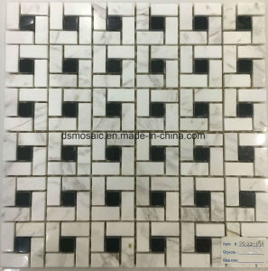 Gray Bianco Carrara Marble Stone Mosaic Tile pictures & photos