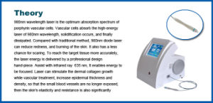 Medical Ce ISO 980nm Diode Laser Spider Vein Removal Machine pictures & photos