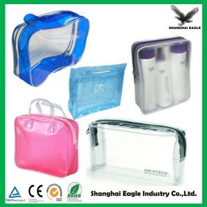Logo Printed Custom Clear PVC Bag pictures & photos