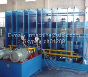 Conveyor Belt Curing Press, Steel Cord / Fabric Conveyor Belt Vulcanizing Press, Conveyor Belt Vulcanizing Press pictures & photos