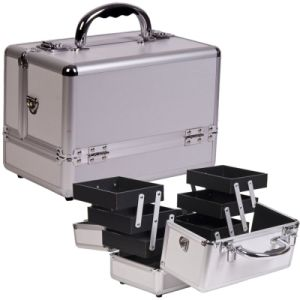 Aluminum Makeup Cases/Hair Dressing Case Makeup Box Set ATA Case Flight Rack Cases Flight Case Aluminum Case Flight Box ATA Case