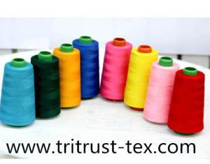 100% Polyester Sewing Thread (3/30s) pictures & photos