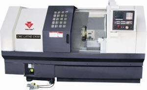CNC Sland Bed Lathe Metal Cutting Machine (CK40) pictures & photos