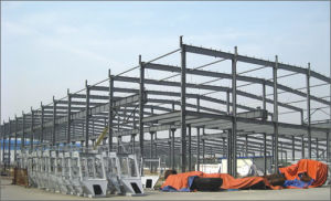 Steel Structure for Workshop Building pictures & photos