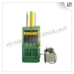 Hydraulic Plastic Vertical Baler Machine for Recycling pictures & photos