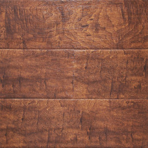 HDF AC5 Baroque Synchronous Surface Wood Laminate Flooring pictures & photos
