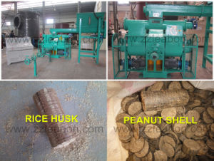 China Produce Biomass Fuel Wood Straw Briquette Machine pictures & photos