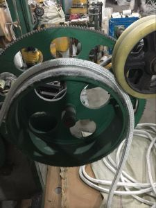 Glass Fiber of Knitted Rope with Fiberglass Core pictures & photos