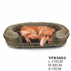 Outside Waer-Proof Thick Fabric Dog Bedding with OEM Logo pictures & photos