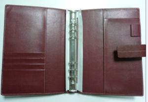 Belt Closure PU File Folder, Organizer pictures & photos