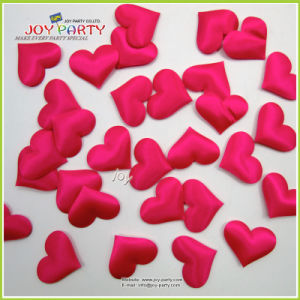 Hot Pink Fabric Wedding Confetti pictures & photos