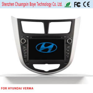 Car DVD Navigation Bluetooth Video SD USB for Hyundai Verna pictures & photos