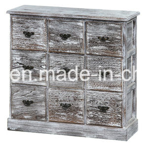 Popular New Design Colorful Retro Solid Wood Cabinet pictures & photos