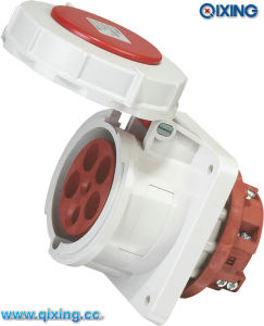 IP67 400V Industrial Female Plug for Panel Mounted (QX1128) pictures & photos