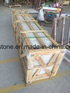 Artificial Solid Surface Engineering White Quartz Stone for Countertop pictures & photos