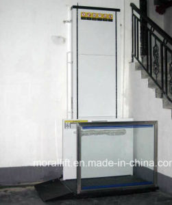Hydraulic disabled accessible wheelchair lift home stair lift pictures & photos