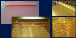 Brass Copper Wire Weaving Filter Mesh pictures & photos
