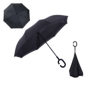 C-Type Reverse Novelty Double Layer Umbrella for Walk pictures & photos
