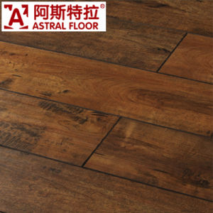 Hot Sale 12mm HDF Embossed Laminated Flooring pictures & photos