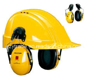 European Style Msa Helmet V Gard Safety Helmet with Earmuff pictures & photos