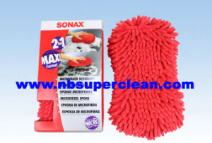 2-in-1 Chenille and Mesh Glass Cleaning Sponge (CN1452-1) pictures & photos