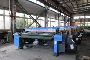 Double Color Denim Fabric Air Jet Shuttleless Weaving Loom Machine pictures & photos