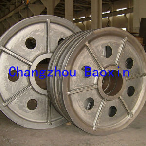Pulley Welding of 45 Steel Sheave pictures & photos
