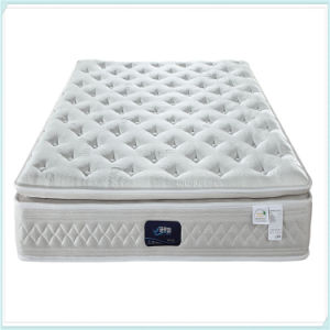 5 Star Hotel Natural Latex Euro Top Pocket Spring Mattress R25 pictures & photos