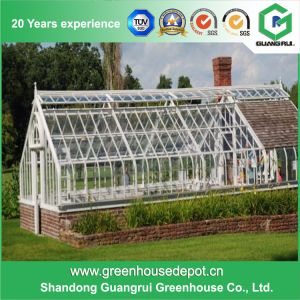 2017 New Design Solid Polycarbonate Garden Greenhouse on Sale pictures & photos