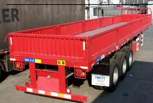 The Three Axles Semitrailer 40 Feet Container Cargo Trailer Semi-Trailer pictures & photos