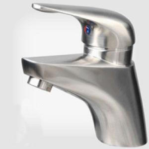 Precision Casting Bathroom Accessories Upc Wash Basin Faucet pictures & photos