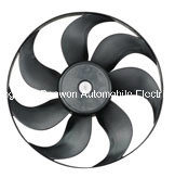 Car Parts/Radiator Fan/Car Condenser Electric Fan for VW Polo Box pictures & photos