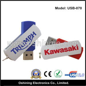 Rotating USB Flash Disc (USB-070) pictures & photos