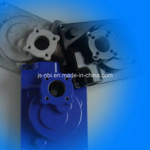 Lost Cost China Supplier for Aluminum Pressure Casted Gear Housing for Electric Motor Use pictures & photos