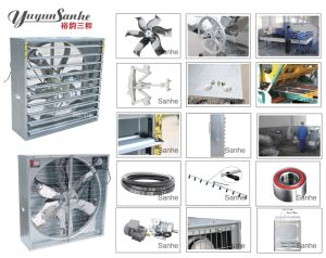 DJF-1380 Centrifugal System Push-Pull Exhaust Fan with CE Certification pictures & photos