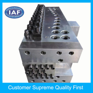 Custom PP Adjustable Hollow Grid Plate Extrusion Plastic Tooling pictures & photos